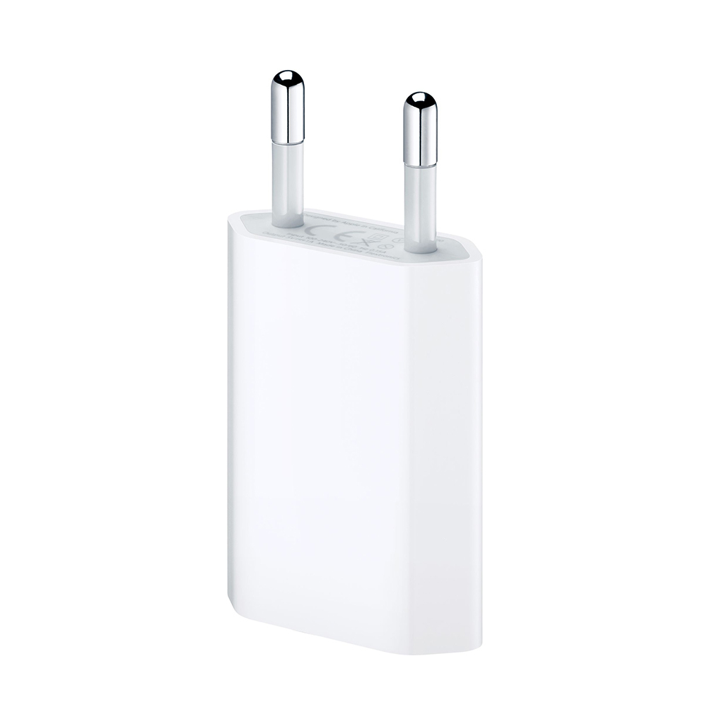 Adaptador de corriente Apple USB para iPod y iPhone