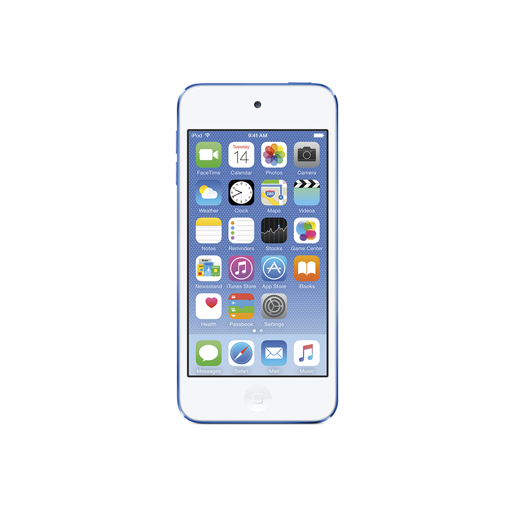 iPod Touch azul