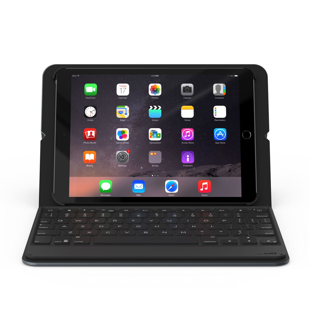 Funda libro Folio Messenger con teclado bluetooth iPad Air/Air2 ZAGG