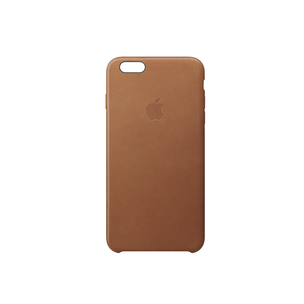 iPhone 6s Leather Case Saddle Brown