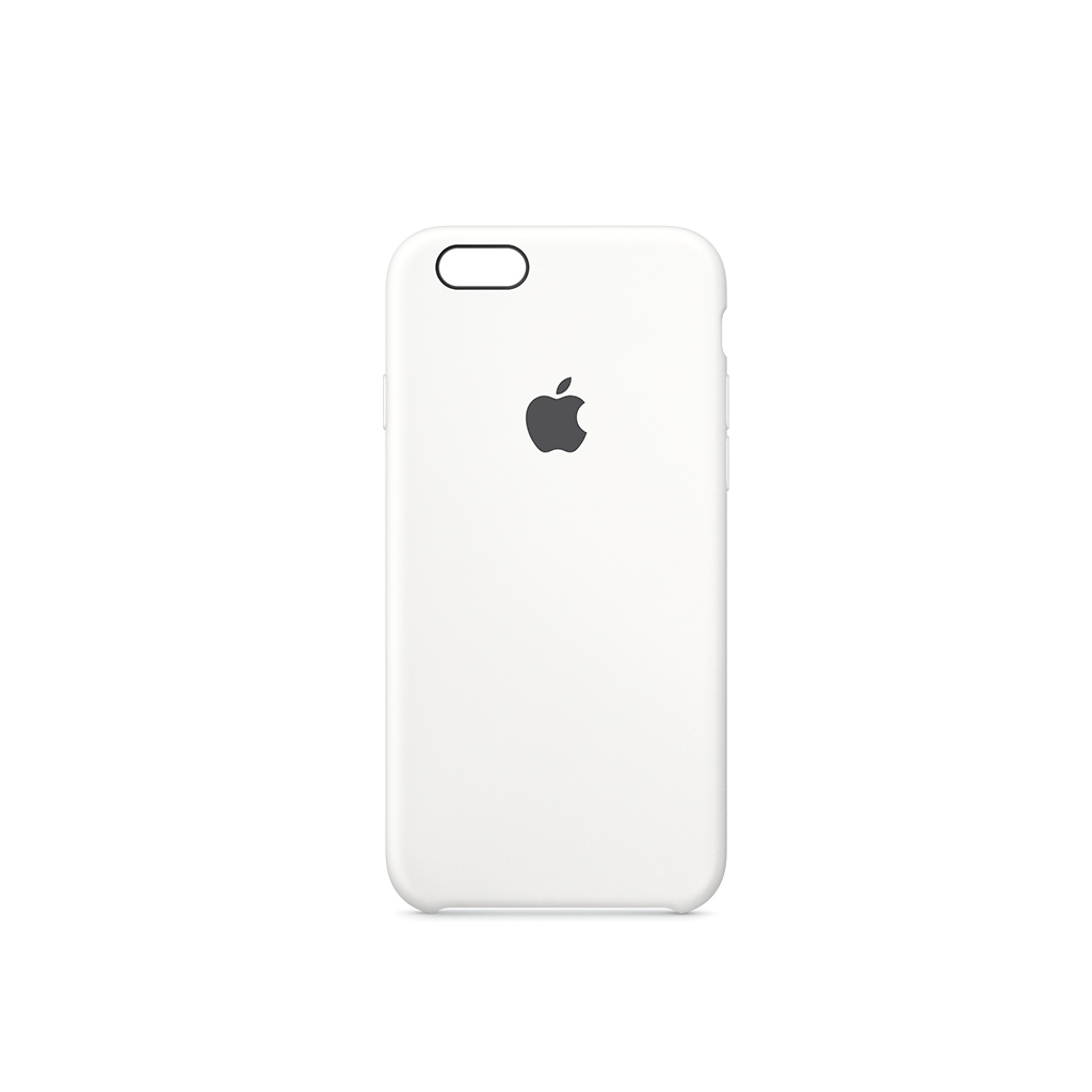 iPhone 6S Silicone Case Blanco