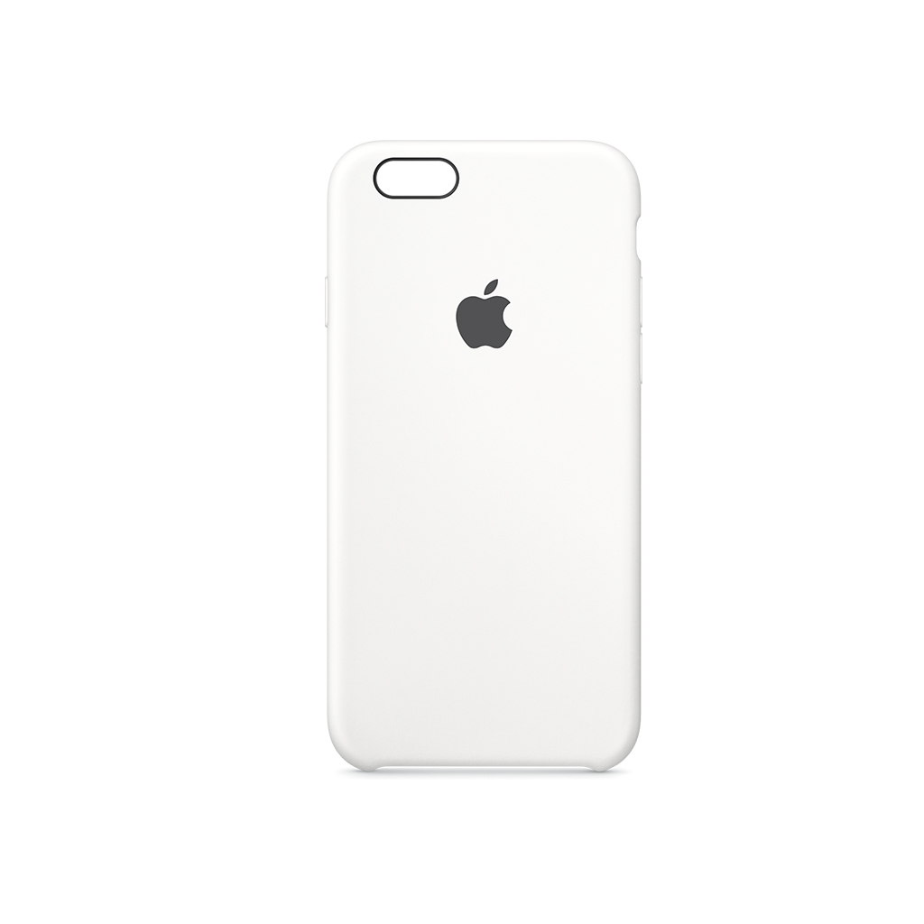 iPhone 6S Plus Silicone Case Blanco