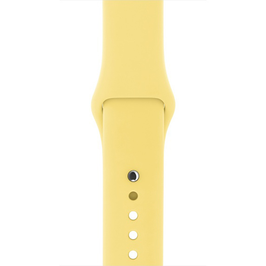 Correas Apple Watch Sport Amarillo Polen 42
