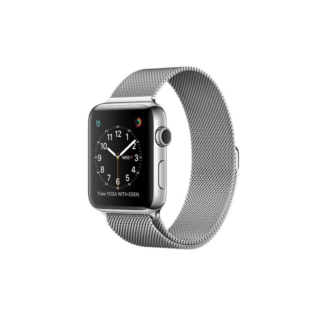 Watch Series 2 42mm Acero inoxidable correa Milanese Loop