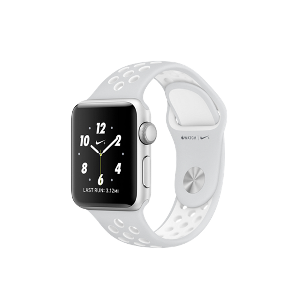 Apple Watch Nike+ 38mm Platino Puro / Blanco