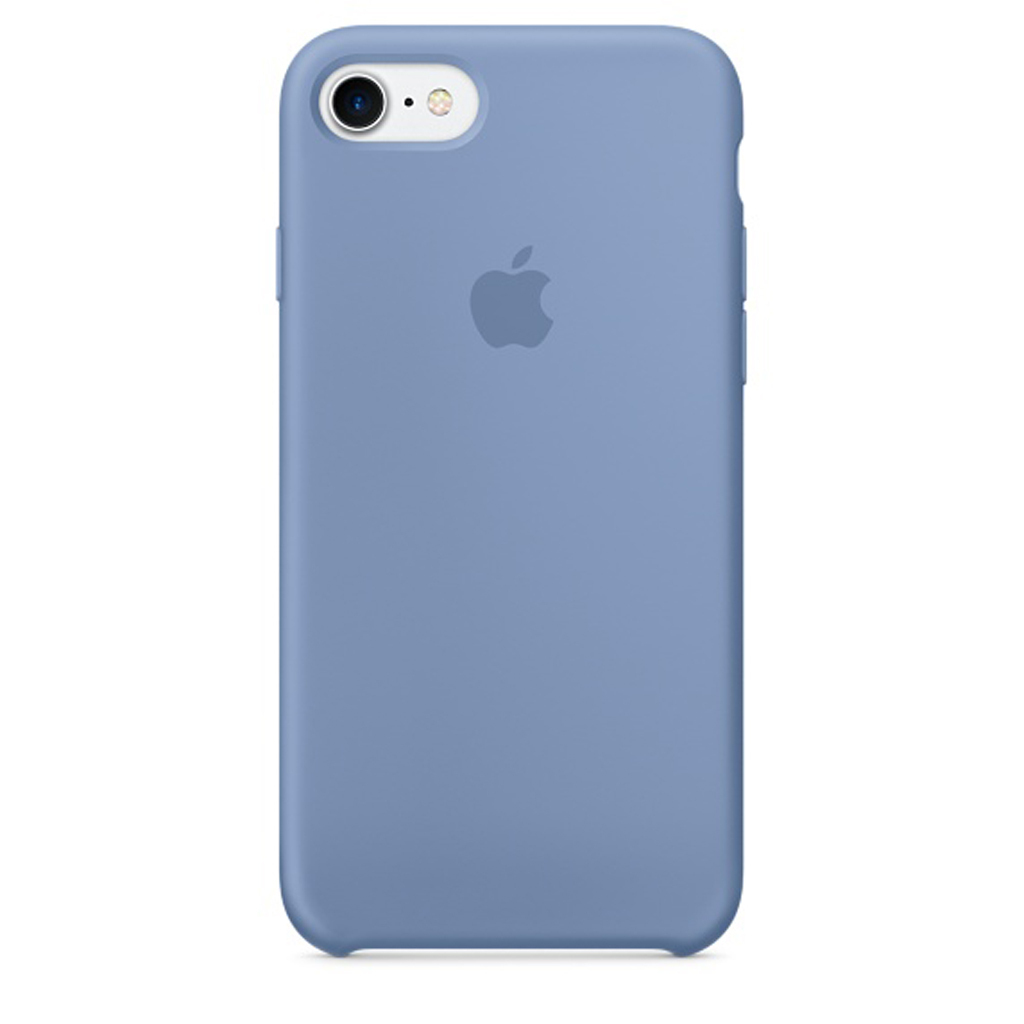 Silicone Case iPhone 7 Azul Celeste