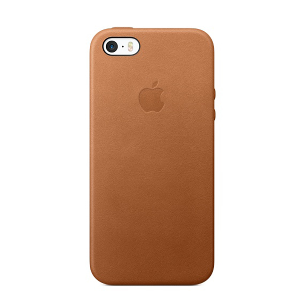 Leather Case iPhone SE Marrón Caramelo