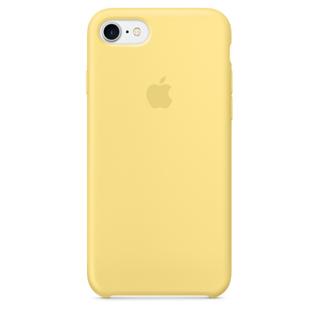 Silicone Case iPhone 7 Amarillo Polen