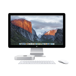 Mac mini con monitor