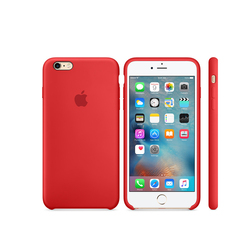 iPhone 6S Silicone Case Rojo