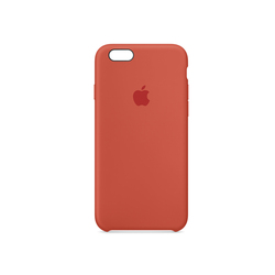 iPhone 6S Plus Silicone Case Naranja