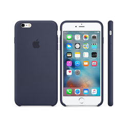 iPhone 6S Plus Silicone Case Azul Marino
