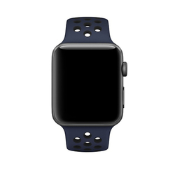 Correas Apple Watch Nike Obsidiana / Negro 42