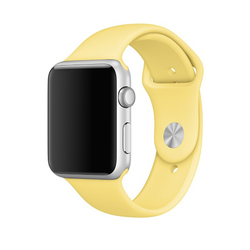 Correas Apple Watch Sport Amarillo Polen
