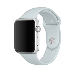Correas Apple Watch Sport Azul Neblina 42