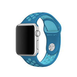 Correas Apple Watch Nike Azul Órbita / Azul Gamma 38