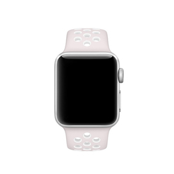 Correas Apple Watch Nike Violeta Light / Blanco 38