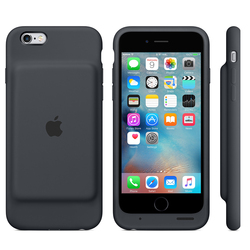 Smart Battery Case para iPhone 6s Charcoal Gray