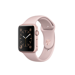 Apple Watch Series 2 38mm Aluminio Oro Rosa correa Sport Rosa Arena
