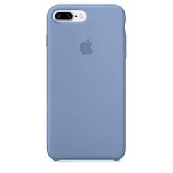 Silicone Case iPhone 7 Plus Azul Celeste